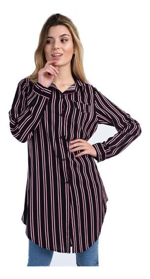 Camisas Mujer Larga Modelo 6