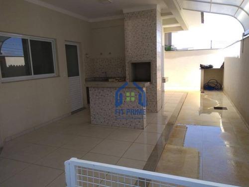 Casa Com 3 Dormitórios À Venda, 190 M² Por R$ 690.000,00 - Residencial Village Damha Rio Preto I - São José Do Rio Preto/sp - Ca0835
