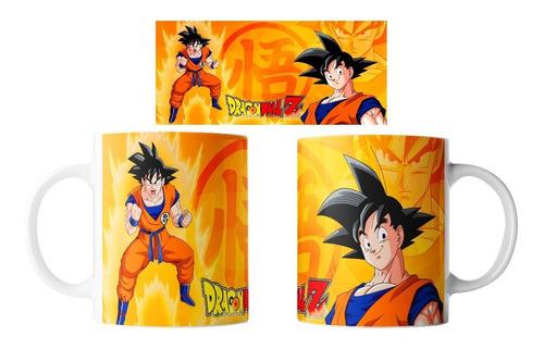 Imagen 1 de 1 de Taza Dragón Ball Z Super Torneo Del Poder  Varios Diseños (goku,vegeta,freezer,broly,shenglong,cell,super Saiyajin Dios)