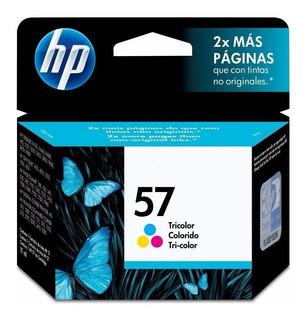 Tinta Hp 57 Tricolor Original - Garantía Vencida