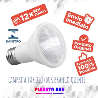 Lampada Led Par20 Saveenergy 7w 2700k -24-bivolt Ip54