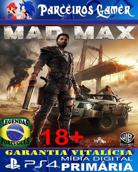 Mad Max - Ps4 1 - Digital - Ação - Aventura Mídia Digital