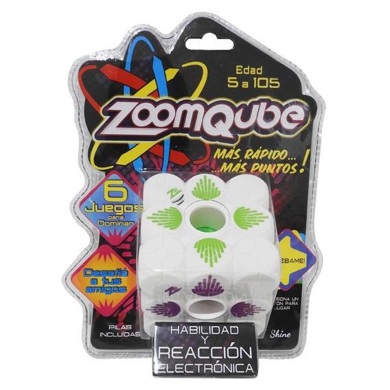 Zoomqube Shine C/luz-sonido Habilidad Y Reacción E. Full