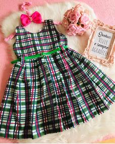 Vestido Infantil 6 Anos C/cinto