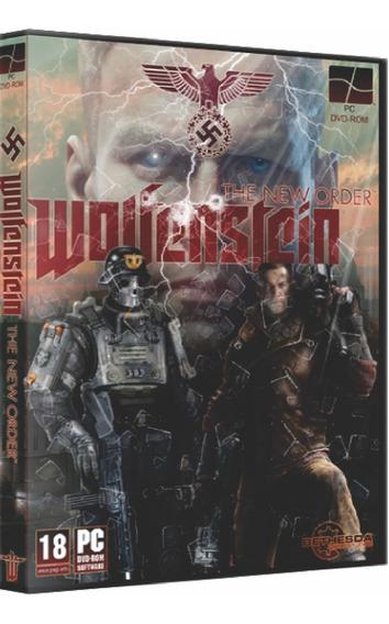 Wolfenstein The New Order Pc Dvd Mídia Física Frete 8 Reais
