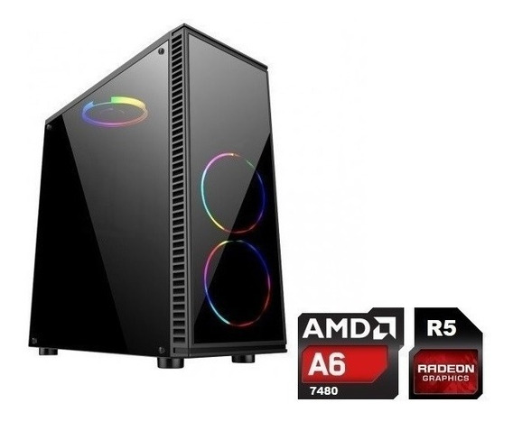 Cpu Gamer Barata Amd A6 7480 4gb Ssd 240gb Video Radeon R5
