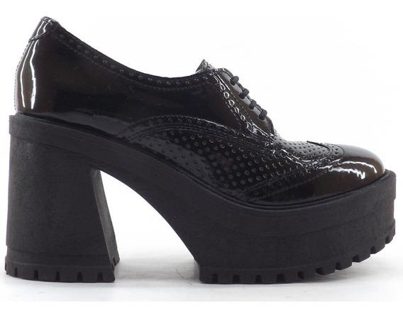 Zapato Savage Acordonado Plataforma Mr-116 Altos Sacha