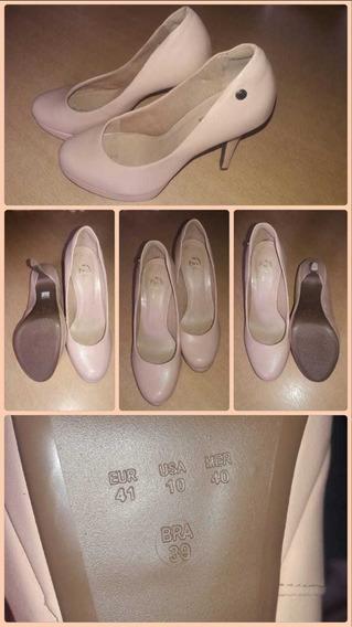 Zapatos Stilleto Color Nude N°39