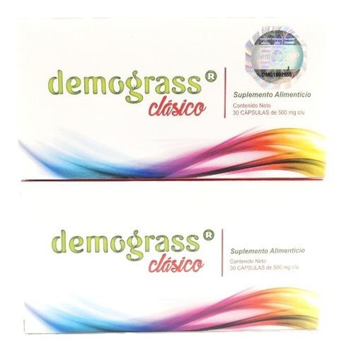 Demograss Clasico 30 Caps De 500mg C/u (2 Cajas) Envio Hoy