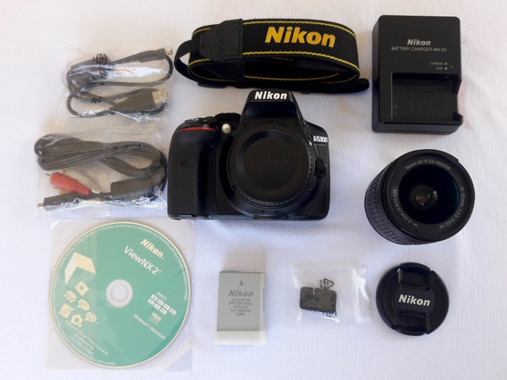 Nikon D5300 + Lente 18-55mm + Bolsa Francier Para Dslr