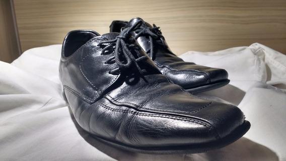 Sapato Social De Couro Democrata Num 43 Preto