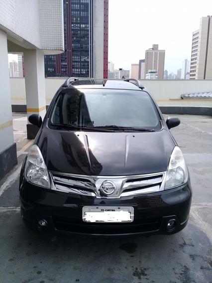 Nissan Livina S 2013 1.8 16v Flex Automático Preta 69700km
