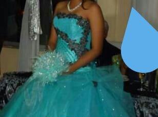 Vestido De Xv Azul