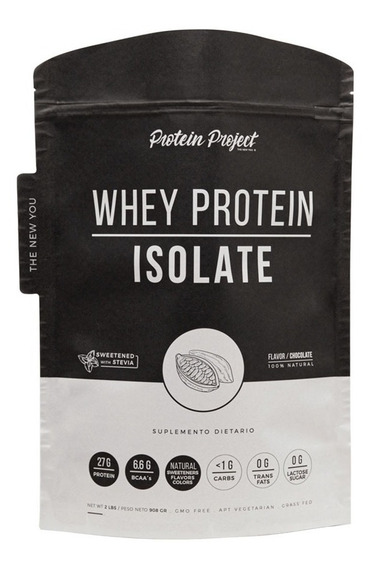 Natural Whey Protein Isolate 2 Lb Protein Project Doypack