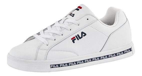 Tenis Fila Casuales Urbano Sneaker Logo Suela Piel/sintetico