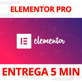 Plugin Elementor Pro 2.5.14 + Atualizações 1 Ano Top