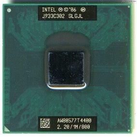 Processador Intel T4400 Dual Core 478 2.2/1m/800