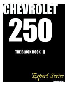 Livro Técnico - Chevrolet 250 Black Book Expert Séries