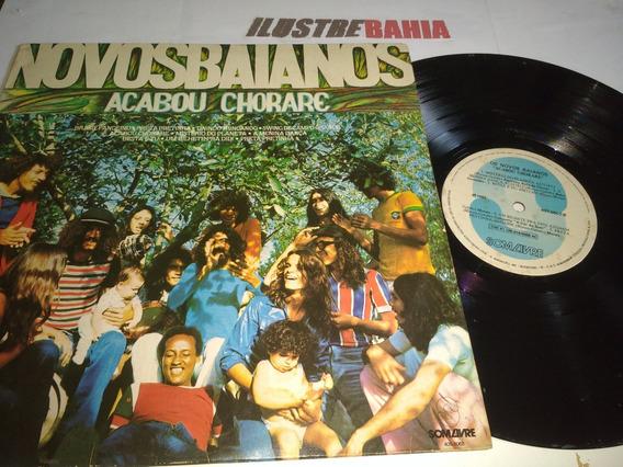 Lp Novos Baianos Acabou Chorare Ed. 1984