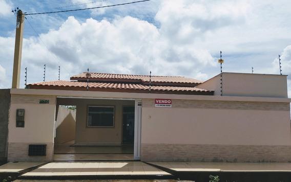 Casa 3 Quartos, Papagaio, Feira De Santana - Ba