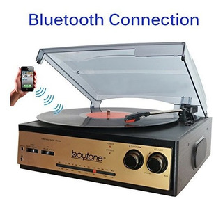 Boytone Bt-13g Con Conexión Bluetooth Estéreo 3-velocidad