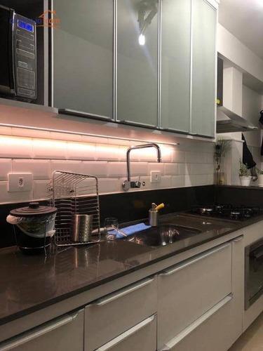 Apartamento À Venda, 67 M² Por R$ 370.000,00 - Vila Ema - São José Dos Campos/sp - Ap12590