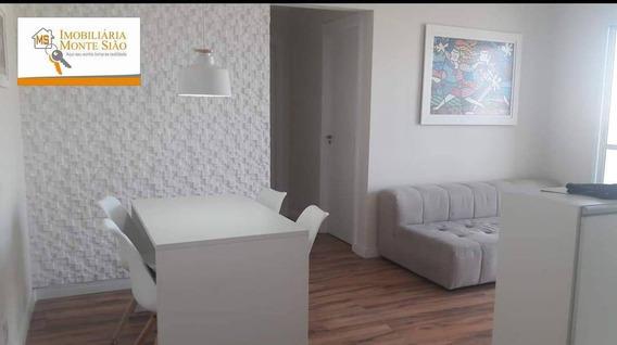 Lindo Apartamento Em Frente Ao Shopping Internacional Com 2 Dormitórios, 61 M² - Vila Endres - Guarulhos/sp - Ap1151