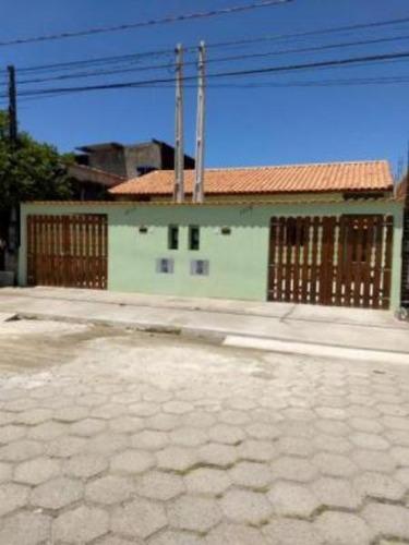 Imagem 1 de 14 de Casa Com Churrasqueira E Garagem Nova Itanhaém - 5266 | Npc