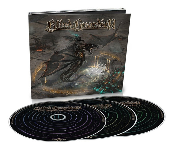 Blind Guardian - Live Beyond The Spheres [3cd] Dig Importado
