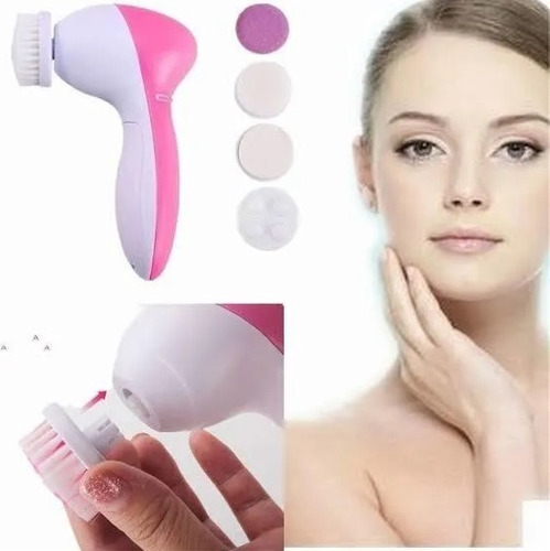 Imagen 1 de 6 de Cepillo Limpiador Facial Exfoliante Rostro Puntos Negr T2023