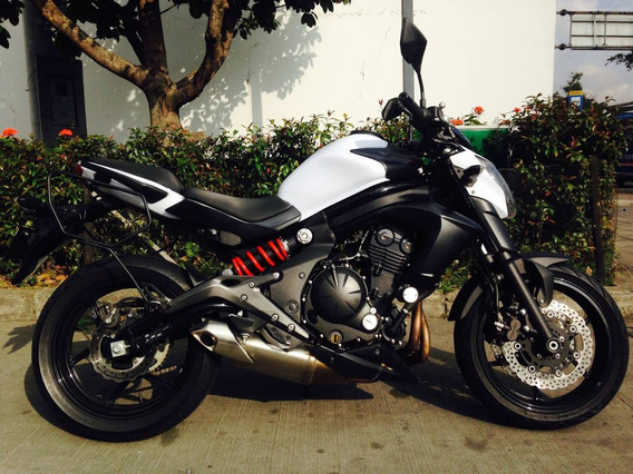 Kawasaki Er6n Blanca 660cc Modelo 2014
