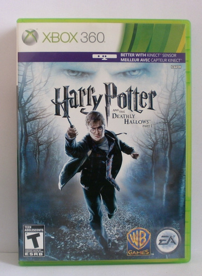 Harry Potter And The Deathly Hallows 1 Xbox 360 Original