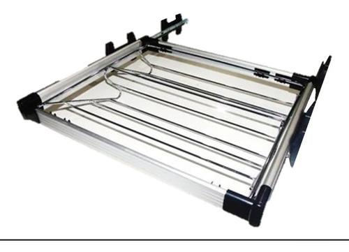 Imagen 1 de 3 de Zapatera Extraíble 70cm De Aluminio Para Closet Y Vestier