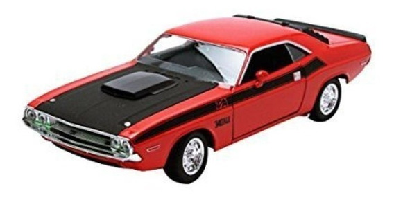 Dodge Challenger T/a 1970 Welly Escala 1.24-27 (373020)