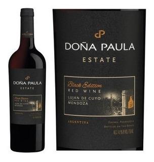 Vino Doña Paula Estate Black Edition 750cc Caja X 6 X 750cc