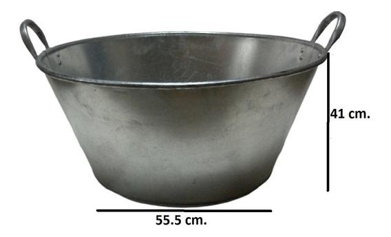 Paila Cazo Para Chicharrones Carnitas Galvanizada 80 Cm.