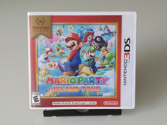 Jogo Mario Party Island Tour Nintendo 3ds Original