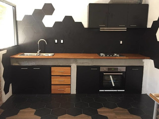 Amoblamiento De Cocina Muebles A Medida Bajo Mesada Aéreo