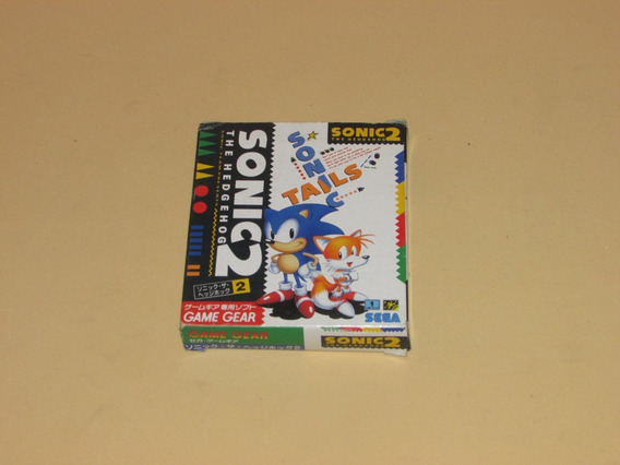Sonic The Hedgehog 2 Original Completo Para Sega Game Gear