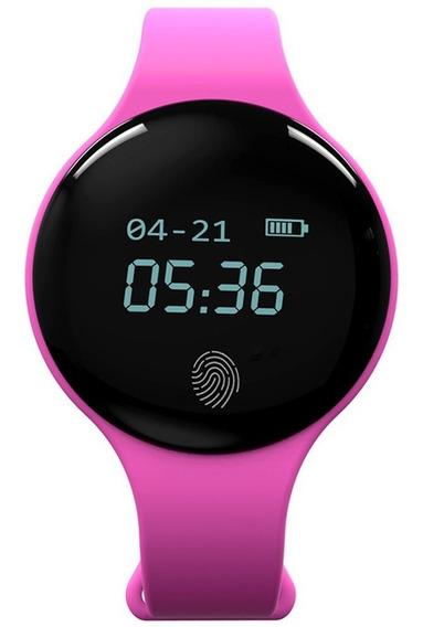 Dial Rodada Relógio Inteligente Mulheres Esporte Relógio De