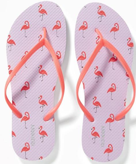 Sandalia Old Navy Para Dama Mod 201355-04 Flamingo