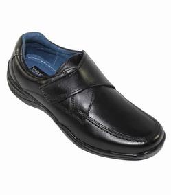 Zapatos De Vestir Leon Niño Negro Piel 352