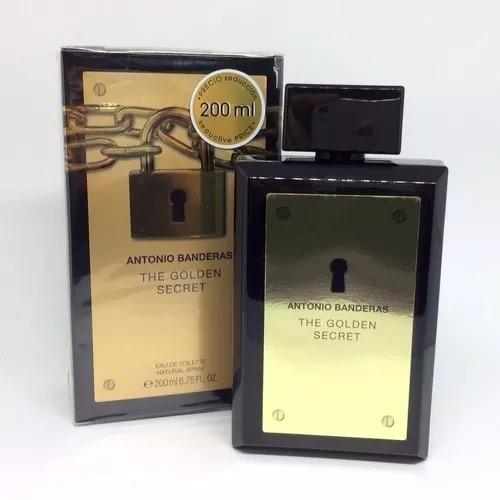 Perfume The Golden Secret 200ml Frete Grátis Nota Fiscal..