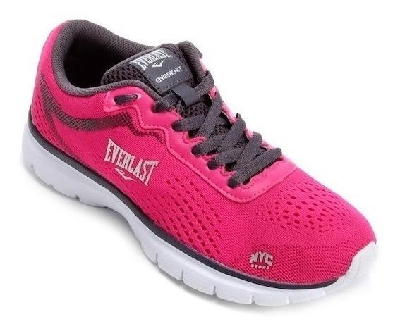 Zapatillas Running Mujer Femenino Everlast Flashlight Correr