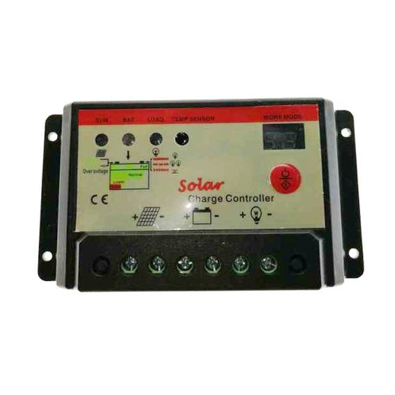 10 Amp 10a Pwm Controlador Cobrar Bateria Inteligente 12v /
