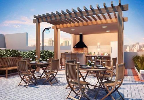 Apartamento Com 2 Dormitórios À Venda, 36 M² Por R$ 181.500,00 - Morumbi - São Paulo/sp - Ap7054