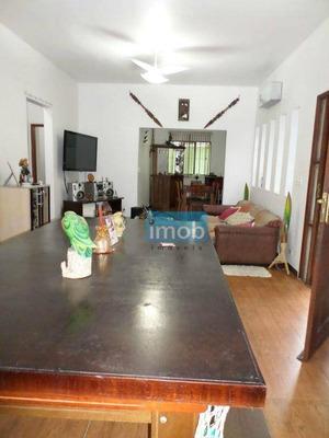 Casa Residencial À Venda, Morro De Nova Cintra, Santos. - Ca0263