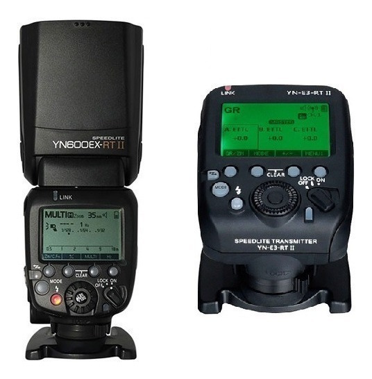 Flash Yongnuo Yn-600ex-rt Ll + Radio Flash E3 Rt