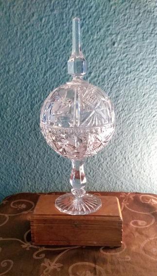 Antigua Bombonera De Cristal Checoslovaco