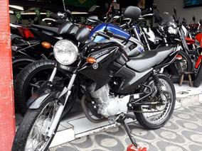 Yamaha Factor 125 K Ano 2014 Preta Shadai Motos